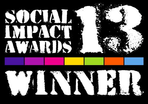 Social Impact Award winner badge