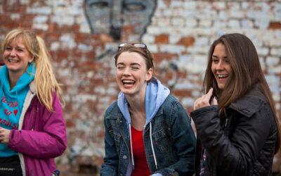 Coronation Street Stars join the set of 'AOI Street Life'