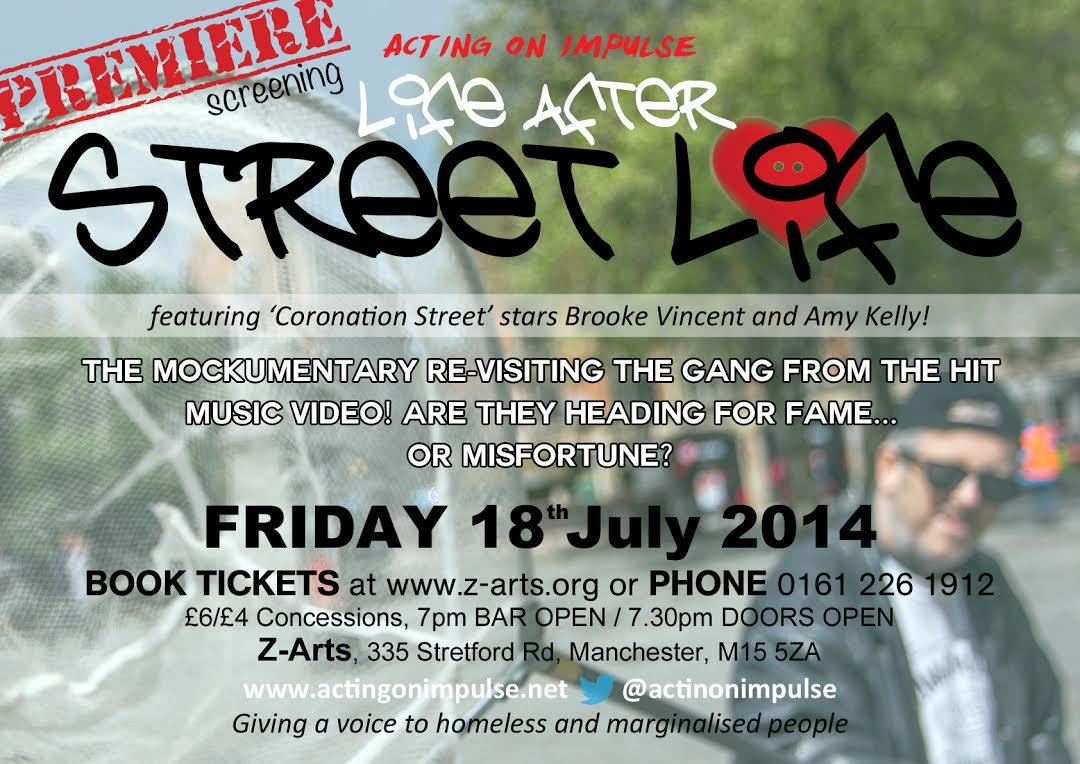 Life After Street Life Premiere Leaflet