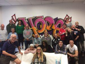 Actors group photo