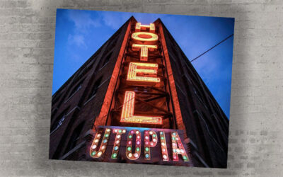 Welcome to Hotel Utopia, fundraiser with a difference