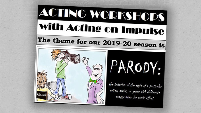 Autumn 2019 Parody Workshop Featured Image