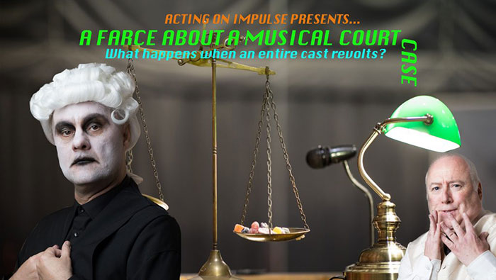 A Farce About a Musical Courtcase Poster