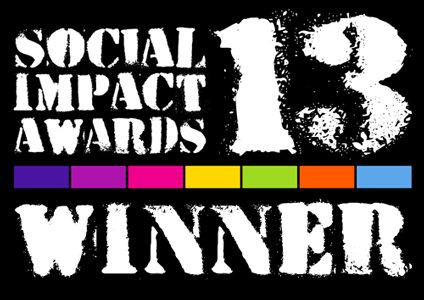 Social Impact Award winner badge